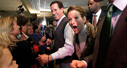 Why Rick Santorum's once-generous lead in Wisconsin is eroding