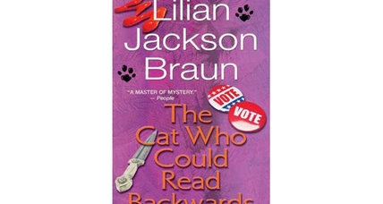 Reader recommendation: The Cat Who Could Read Backwards