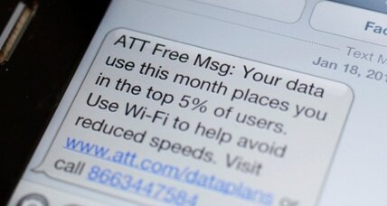 AT&T: new limits on 'unlimited' plans