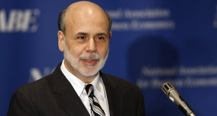 Bernanke signals low interest rates, stocks take off