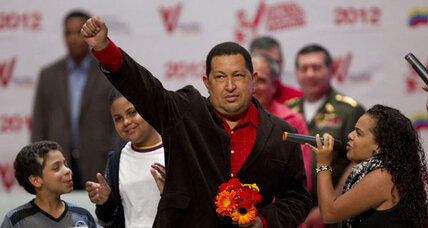 Chavez leading rival in run-up to Venezuela elections