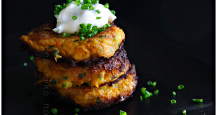 Meatless Monday: Carrot fritters