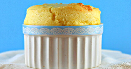 Simple cheese souffle