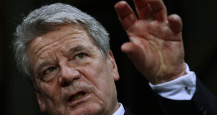 East Germans unite: Joachim Gauck elected president