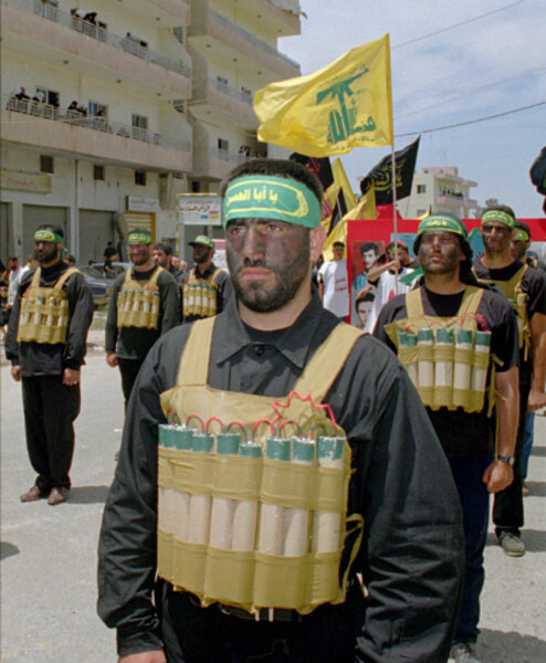 Image result for hezbollah parades suicide bomb