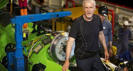 James Cameron makes final preparations for historic deep-sea dive