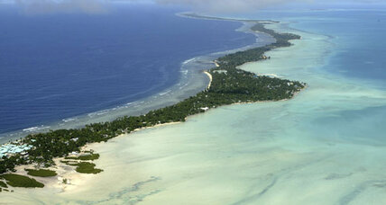 Island nation of Kiribati contemplates move to Fiji