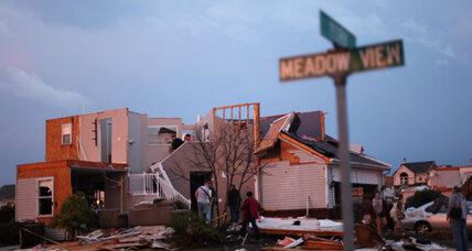 Tornado tears through Michigan towns