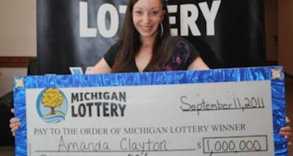 Lottery winner. Food stamps. In Michigan. Again.