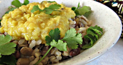 Meatless Monday: Masoor dal with cumin seed oil