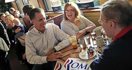 Republicans may think 'blah' about Mitt Romney, but it's his numbers that count