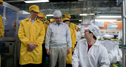Apple CEO's visit to Foxconn plant dredges up controversial history