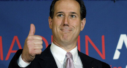 Santorum sweeps Alabama, Mississippi primaries