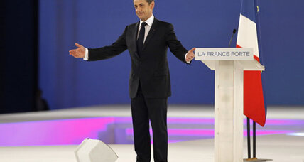 Is this France or Phoenix? Sarkozy touts 'Buy American' and border security