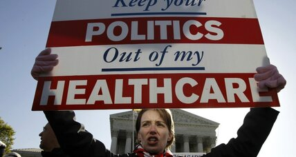 Obamacare gives Congress license to micromanage every facet of our lives