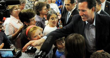 Santorum beats Romney in Louisiana