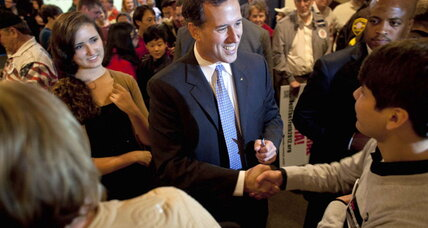 Louisiana primary keeps Santorum's hopes alive as Gingrich, Paul fade