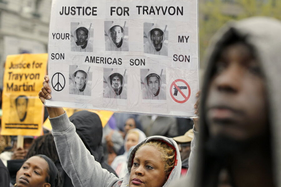 trayvon martin essay I am writing to express my concern of the injustice of trayvon martin and would like to appeal about the decision of the jury after acquitting the neighborhood watch.