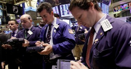 Stock market points to lower open