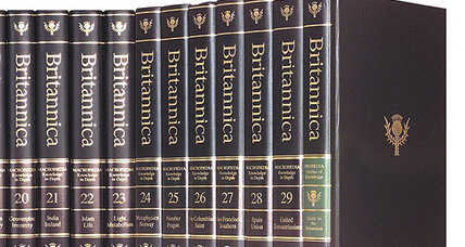 Encyclopaedia Britannica: After 244 years in print, only digital copies sold