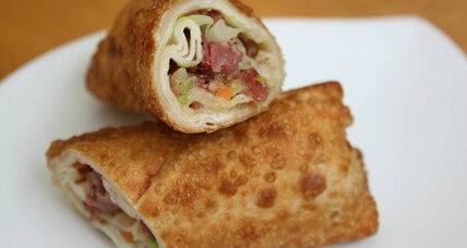Corned beef and cabbage egg rolls