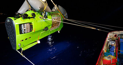 What James Cameron saw 6.8 miles deep in Mariana Trench (+video)