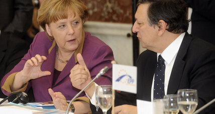 EU pushes bigger bailout fund and Germany pushes back