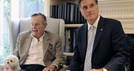 George H.W. Bush to endorse Mitt Romney for president