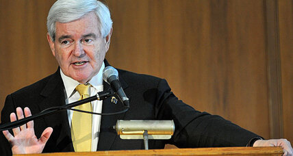 Short on cash, Newt Gingrich turns to Twitter to win delegates