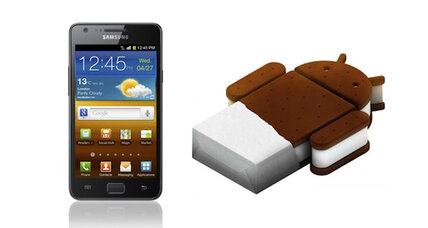 Ice Cream Sandwich to hit Galaxy S II soon