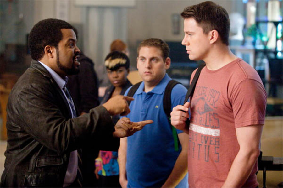 Funny Moments With Jonah Hill In 21 Jump Street Movie Review