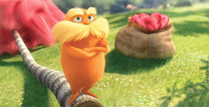 Dr. Seuss's eco-cautionary fable 'The Lorax': movie review