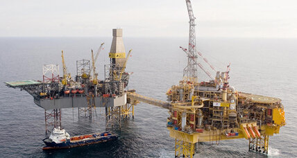North Sea gas leak has environmental activists concerned