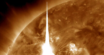 Solar flare: Biggest in six years hits the Earth (+video)