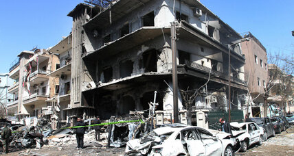 Fighting in Damascus belies Syrian government's claim of control