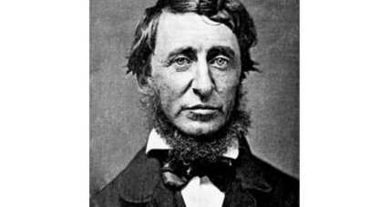 Henry David Thoreau as global-warming researcher?