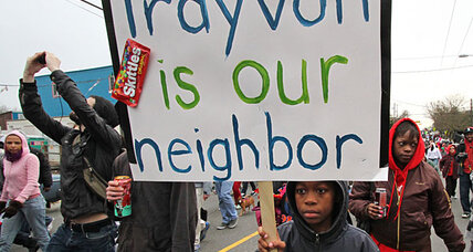 Trayvon Martin hoodie and Skittles rallies spread across nation
