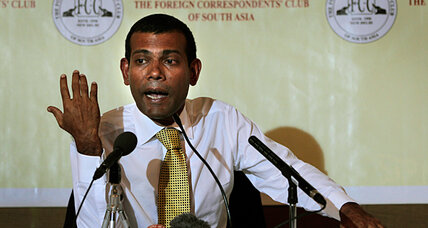 Maldives former president arrested