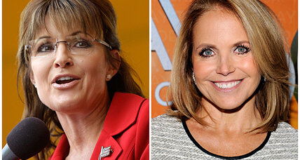 Sarah Palin a news show 'co-host'? Rivalry with Katie Couric casts her as one.