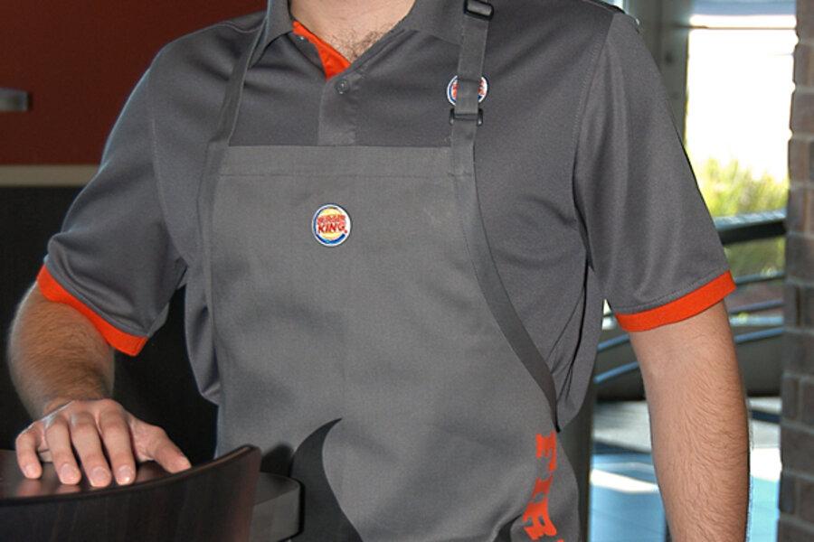 99bbf02fb3966 Uniforms. Courtesy of Burger King