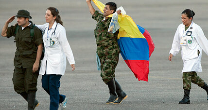 FARC hostage release: Peace agreement ahead in Colombia? (+video)
