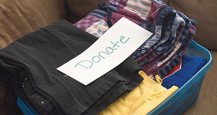 Should you sell or donate your old clothes?