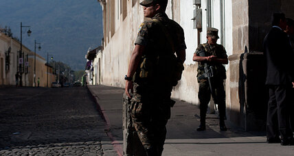 Report: US should minimize military aid to Central America, strengthen courts, police