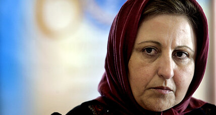 Nobel laureate Shirin Ebadi speaks out against Iran sanctions