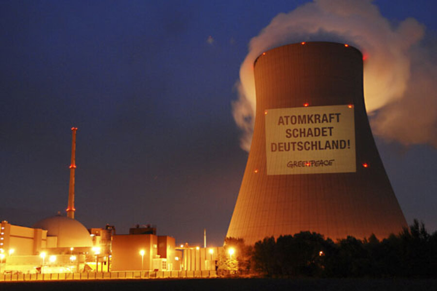 Why Germany Is Ditching Nuclear Power Csmonitor Com