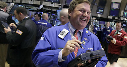 Stocks surge on strong US profits; Spain