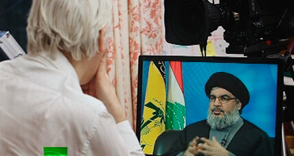 When Assange meets Nasrallah, you learn the most about Assange (+video)