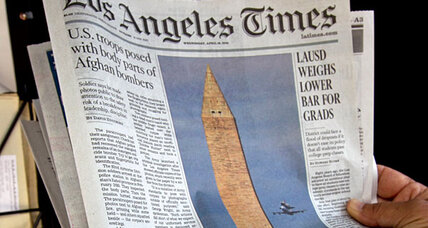Did Los Angeles Times make right call on photos of dead Afghans?