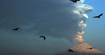 Drug violence? Mexicans say Popocatepetl is a bigger concern.