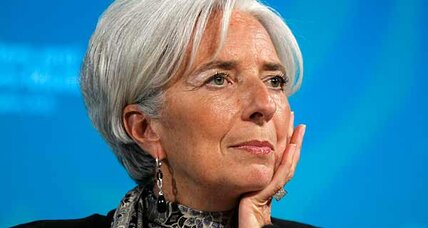 Economic weather report by IMF's Christine Lagarde: 'umbrella' still needed